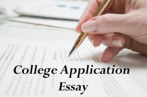 Writing a college application essay be