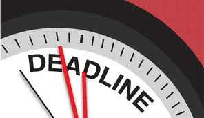 Admission Deadlines